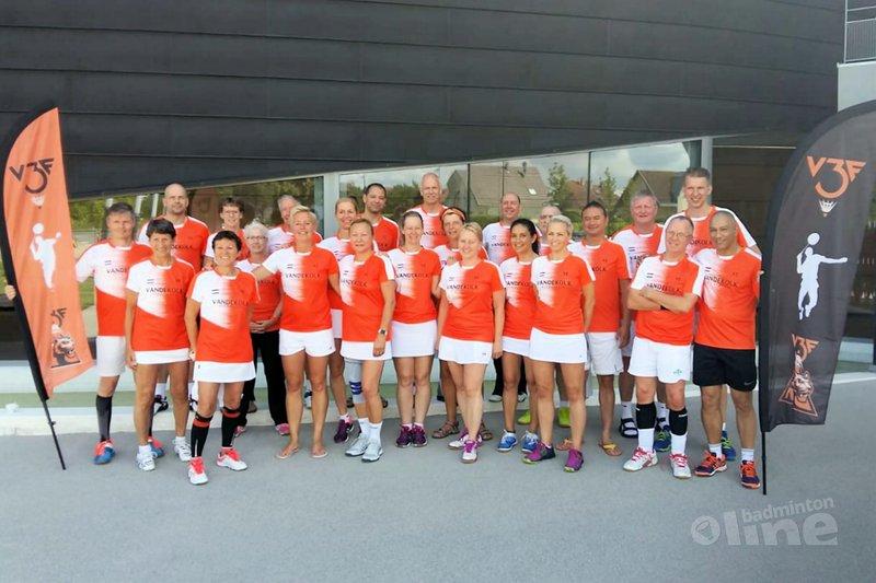 Brons voor Nederlandse Masters in Hesingue - Badminton Veteranen Nederland