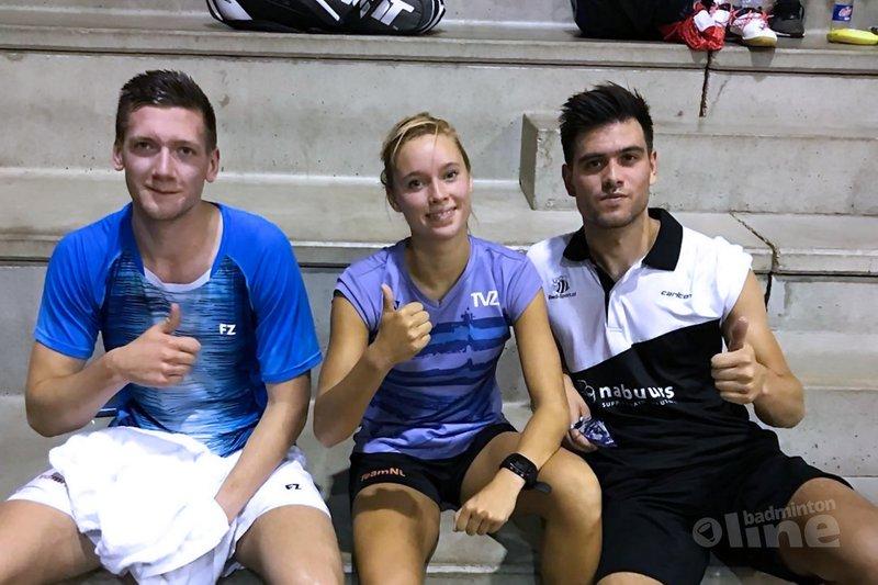 Joran Kweekel stunt in Madrid met winst op Engelsman Sam Parsons - Badminton Nederland
