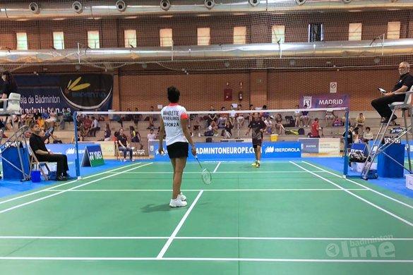 Vier Nederlandse kwartfinales in Madrid: Joran Kweekel overklast Nick Fransman - Badminton Nederland