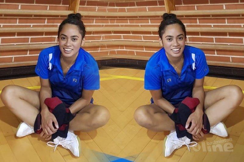 Gayle, Debora en Imke in halve finales Spanish International 2018 - Badminton Nederland / badmintonline.nl
