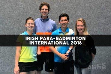 Nederlandse ploeg aangepast badminton in Dublin voor Irish Para-Badminton International 2018