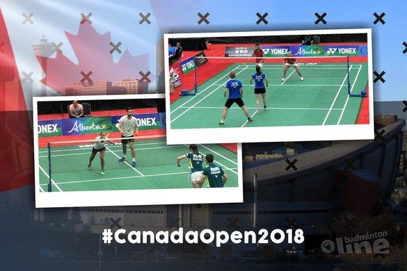 Uiterst succesvolle eerste dag Canada Open 2018 - Badminton Nederland / badmintonline.nl