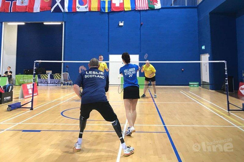Wisselende resultaten eerste dag Irish Para-Badminton International 2018 - Badminton Nederland
