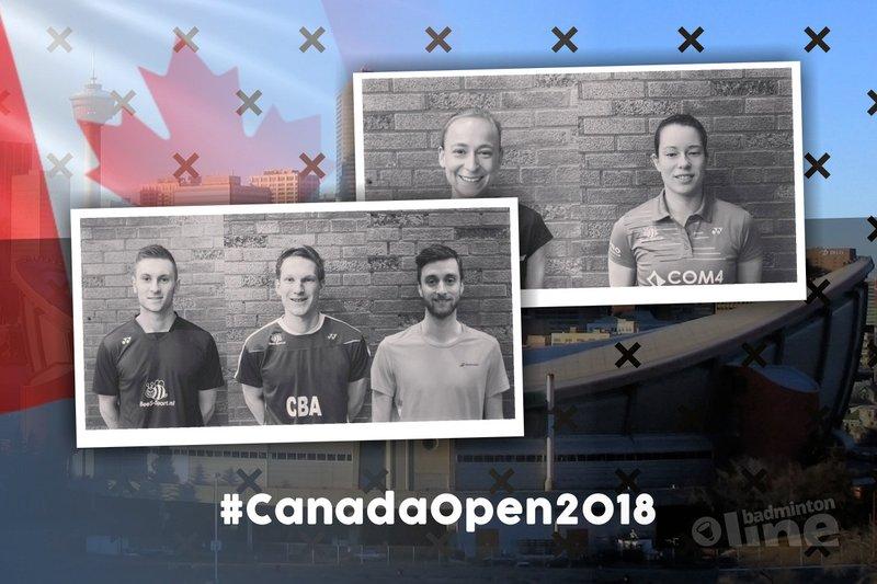 Drie kwartfinales voor Nederlandse ploeg in Canada - Badminton Nederland / badmintonline.nl