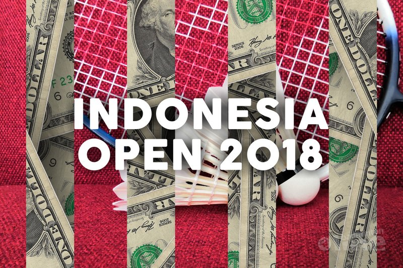 Dutch badminton players vying for US$ 1,250,000 prize purse of Indonesia Open 2018 in Jakarta - Pixabay / badmintonline.nl