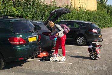 Demi Brehler aangekomen in Denemarken voor badmintonjaar