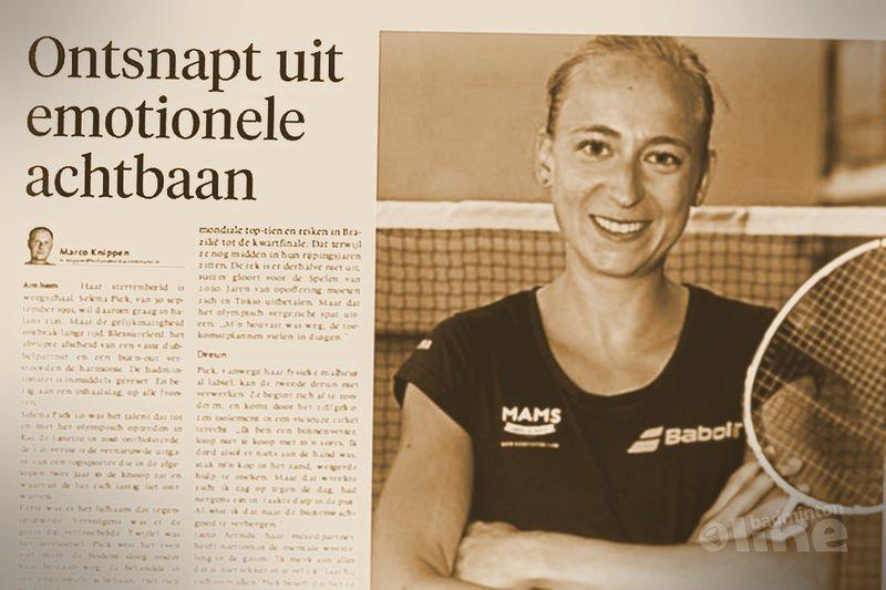 Selena Piek: Ontsnapt uit emotionele achtbaan - De Gooi- en Eemlander / badmintonline.nl