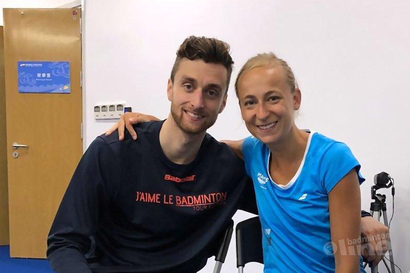 Jacco Arends en Selena Piek in finale Scottish Open 2018 - Selena Piek