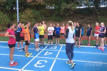 Trainingskamp jeugdselecties op Papendal
