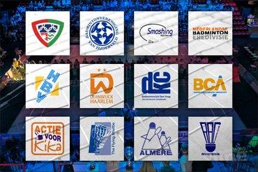 Zaterdagmiddag in teken van Nederlandse Badminton Eredivisie in Den Haag