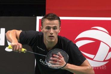 Topbadmintonner Mark Caljouw heeft goede papieren voor Dutch Open in oktober