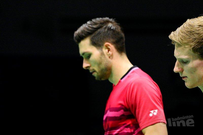 Kwartfinales eindstation voor het Nederlandse mannendubbel - Danilo Perri