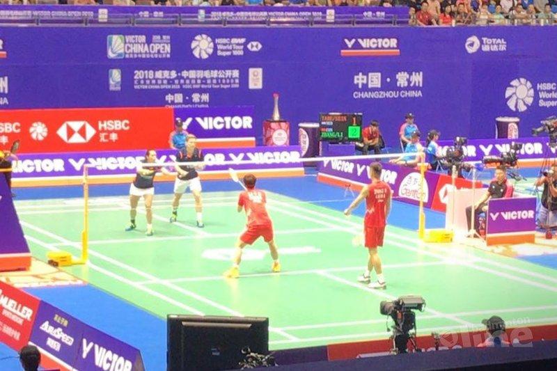 Cheryl Seinen en Robin Tabeling sneuvelen in eerste ronde China Open 2018 - Badminton Nederland