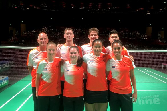 Interland: Nederland verliest met 4-1 van Duitsland - Badminton Nederland