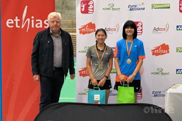 Amy Tan wint Belgian Junior 2018