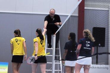 De eredivisietrein komt langzaam op gang voor Haagse badmintonners