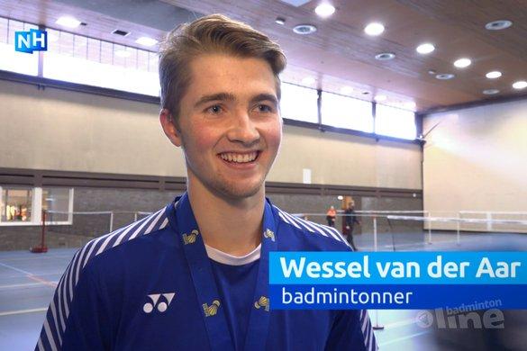 Zandvoortse broer en zus Van der Aar dromen van badmintonnen op de Spelen - NH Nieuws