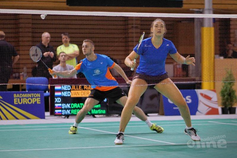 Imke van der Aar en Ruben Jille in tweede ronde Tsjechië - Tomas Mica