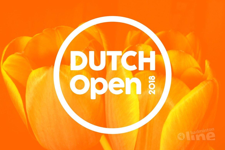 Nederlandse wedstrijden Dutch Open 2018 badmintontoernooi in Almere bekend