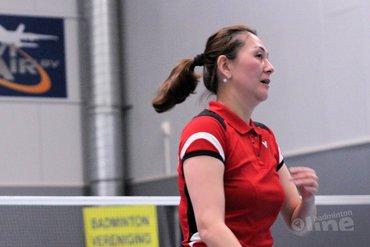 Wat kunnen de badmintondames van Hoornse uitrichten tegen Van Zijderveld?