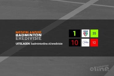 Tussenstand Nederlandse Badminton Eredivisie: hevige strijd om vijfde plek in kampioenspoule