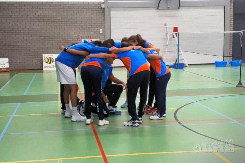 Van Zijderveld te sterk voor Hoornse badmintonners