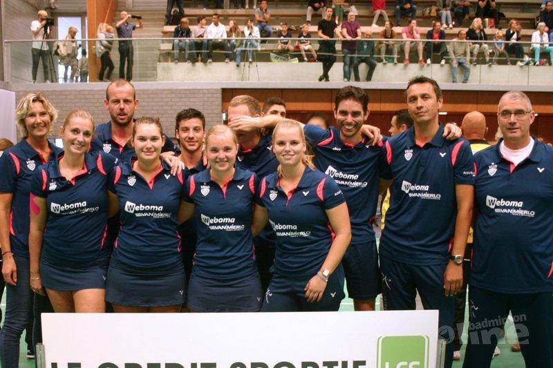 Wateringse VELO pakt de koppositie in de Nederlandse Badminton Eredivisie - VELO