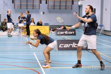 HTM-tram van DKC rolt door in Nederlandse Badminton Eredivisie