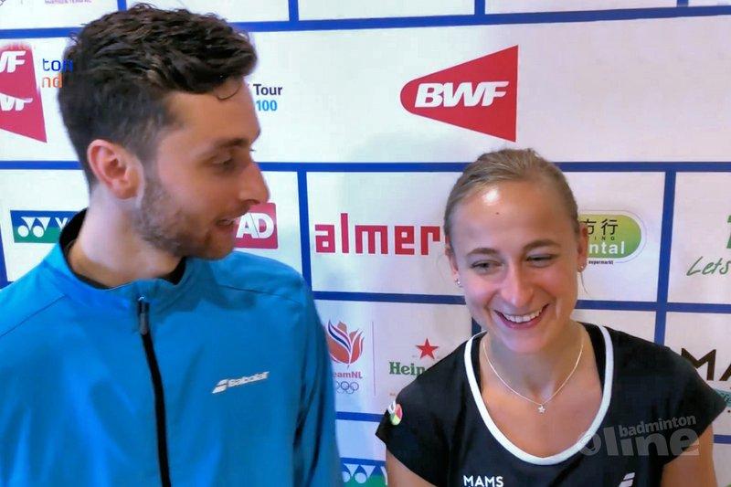 Jacco Arends: Selena en ik zijn hartstikke leuk om naar te kijken! - Badminton Nederland
