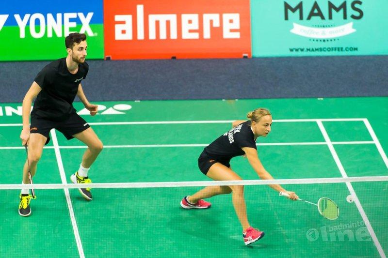 Jacco, Selena, Ruben en Imke naar ronde twee Yonex Dutch Open 2018 - René Lagerwaard