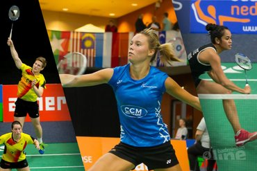 Yonex Dutch Open 2018: Gayle, Soraya, Cheryl en Robin naar ronde twee
