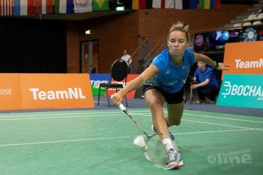Geen kwartfinales in Almere voor Soraya de Visch Eijbergen en Gayle Mahulette