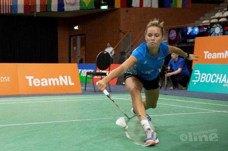 Geen kwartfinales in Almere voor Soraya de Visch Eijbergen en Gayle Mahulette - Alex van Zaanen