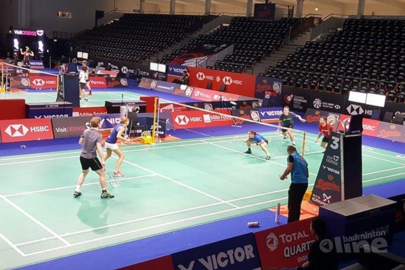 Nederlandse topbadmintonners bij Denmark Open 2018 in Odense - Badminton Nederland