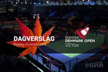 Dinsdag Dagverslag Denmark Open 2018: kennismaken met nieuwe opzet