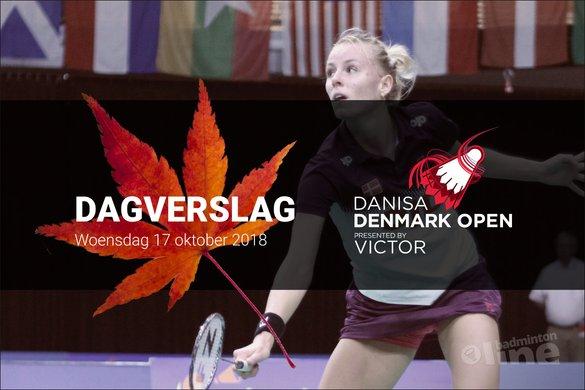Woensdag Dagverslag Denmark Open 2018: een handtekening van Mia Blichfeldt - badmintonline.nl/ badminton en zo . net