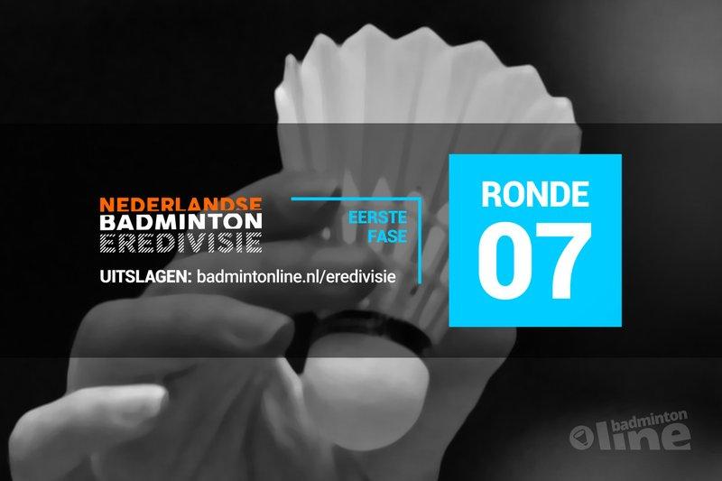 Uitslagen zevende speelronde Nederlandse Badminton Eredivisie 2018-2019 - badmintonline.nl / Jos van den Einde