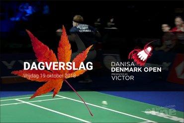 Vrijdag Dagverslag Denmark Open 2018: vreugdedans Anders Antonsen