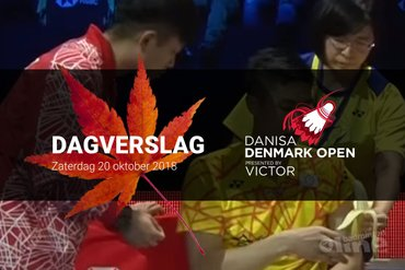Zaterdag Dagverslag Denmark Open 2018: de moeder van Chou Tien Chen