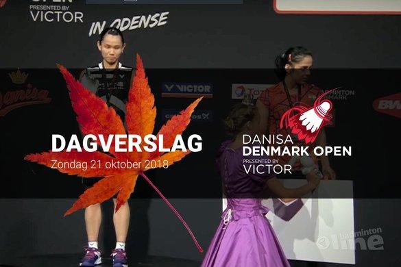 Zondag Dagverslag Denmark Open 2018: de onvermijdelijke prinsesjes - badmintonline.nl / BWF / YouTube