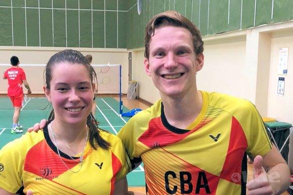 Robin Tabeling en Cheryl Seinen overrompelen Maleisische top 10 spelers - Badminton Nederland