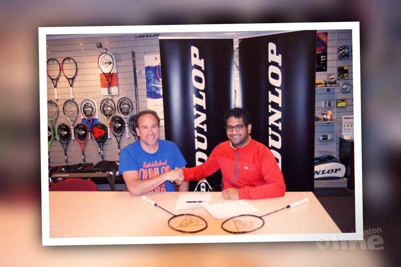 Jordy Brouwer gaat met Dunlop naar het EK Parabadminton in Frankrijk