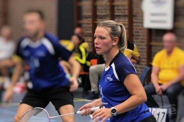Smashing pakt punt tegen koploper VELO in Nederlandse Badminton Eredivisie