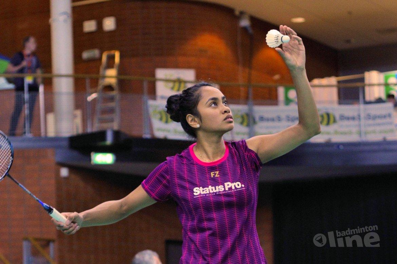 Badmintonner Gayle Mahulette soliste in Hongarije