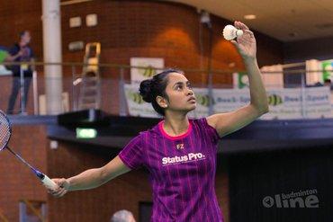 Excellente badmintonster Gayle Mahulette vecht tegen Aziatische overheersing