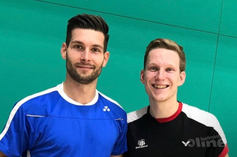 Topbadmintonners Jelle Maas en Robin Tabeling op koers in Saarbrücken - Badminton Nederland