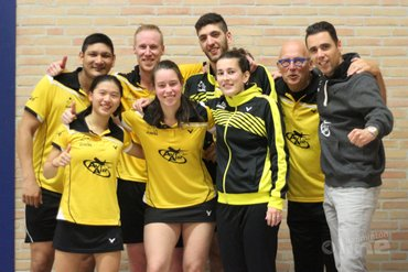 Almere thuis tegen Duinwijck in kampioenspoule Nederlandse Badminton Eredivisie