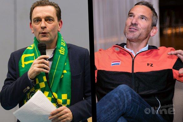Voorzetter ontmoet voorzitter - René Lagerwaard / Alex van Zaanen