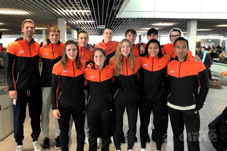 Wisselende resultaten Jong Oranje tijdens Wereld Jeugdkampioenschappen Badminton in Canada
