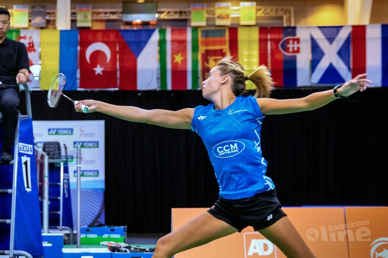 Badmintonemigrante Soraya de Visch Eijbergen reekshoofd in Dublin